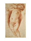A Putto, 1620 - 1624 Giclee Print by  Guercino