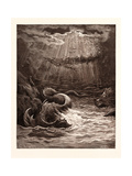 The Creation of Fish and Birds Giclee Print by Gustave Dore