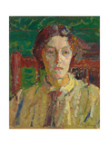 Portrait of Mrs Whelan, C. 1912-3 Giclee Print by Harold Gilman