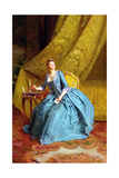 Lady in an Interior Giclee Print by Gustave Jacquet