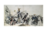 Grand Course Au Clocher Academique Giclee Print by  Grandville