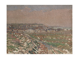Dieppe from the West, 1910 - 1911 Giclee Print by Harold Gilman