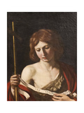 St John the Baptist, 1645 Giclee Print by  Guercino