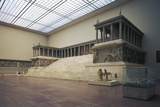The Pergamon Altar, 180-160 Bc, Marble, Hellenistic Civilization, 2nd Century Bc Photographic Print by  Greek