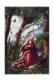 Saint John's Vision at Patmos Giclee Print by Hans Burgkmair