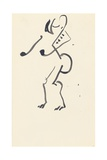 Study for 'Red Stone Dancer', 1914 Giclee Print by Henri Gaudier-brzeska