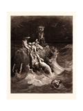 The Deluge Giclee Print by Gustave Dore