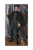 1st Earl of Pembroke Giclee Print by Hans Eworth