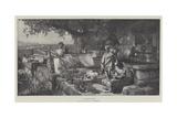 A Pleasant Studio Giclee Print by Hendrik Siemiradzki
