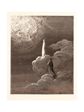 Beatrice and Dante Rising to the Fifth Heaven Giclee Print by Gustave Dore