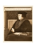 Thomas Cromwell, Earl of Essex, C.1537 Giclee Print by Hans Holbein the Younger