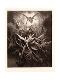 The Fall of the Rebel Angels Giclee Print by Gustave Dore