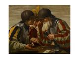 The Gamblers, 1623 Wydruk giclee autor Hendrick Ter Brugghen