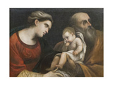 The Holy Family, 1615-16 Giclee Print by  Guercino