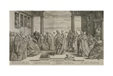 The Venetian Wedding, 1584 Giclee Print by Hendrik Goltzius
