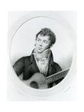 Fernando Sor (1778-1839) C.1825 Giclee Print by Gottfried Engelmann