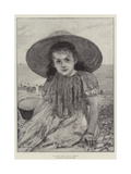 On the Beach Giclee Print by Henri Gervex