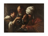 Pilate Washing His Hands, C.1615-1628 Giclee Print by Hendrick Ter Brugghen
