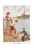 Merry England Giclee Print by Gordon Frederick Browne