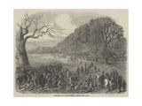 Spelthorne Club Coursing Meeting, Hampton Court Park Giclee Print by Harrison William Weir
