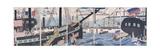 Foreign Ships at Yokohama Giclee Print by Gountei Sadahide