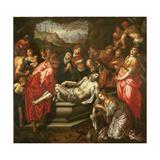 Entombment Giclee Print by Hendrik De Clerck