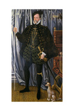 The 1st Earl of Pembroke (C.1501-70) Giclee Print by Hans Eworth