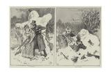 Winter Scenes Giclee Print by Gordon Frederick Browne