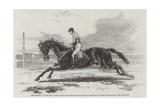 Lord Zetland's Vedette, the Winner of the Two Thousand Guineas Stakes at Newmarket Giclee Print by Harry Hall