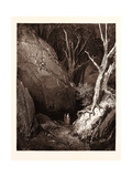 Dante and His Guide Giclee Print by Gustave Dore