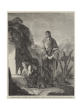 Mary Magdalene at the Sepulchre Giclee Print by Henry Le Jeune