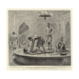Life in Constantinople, at the Turkish Bath Giclee Print by Henri Lanos