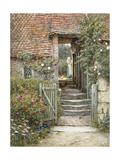 Under the Old Malthouse, Hambledon, Surrey (Watercolour with Scratching Out) Giclee Print by Helen Allingham
