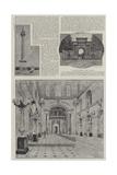 Blenhelm Palace Illustrated Giclee Print by Henry Edward Tidmarsh