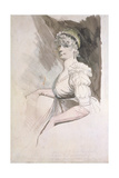 Portrait of Mrs Fuseli, C.1798 Giclee Print by Henry Fuseli