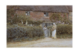 A Cottage at Haslemere Giclee Print by Helen Allingham