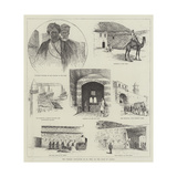 The Turkish Occupation of El Wedj, on Coast of Arabia Giclee Print by Henry Charles Seppings Wright