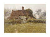 A Cottage at Pinner, Middlesex Giclee Print by Helen Allingham