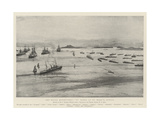 The Naval Manoeuvres, X Fleet at St Mary's, Scilly Giclee Print by Henry Charles Seppings Wright