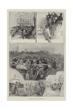 The Inauguration of the Motor-Car Giclee Print by Henry Charles Seppings Wright