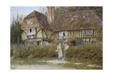 A Kentish Cottage Giclee Print by Helen Allingham
