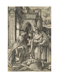 The Nativity Giclee Print by Hans Holbein the Younger