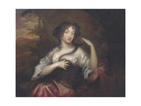 Portrait of Hortense Mancini, 1680 Giclee Print by Henri Gascars