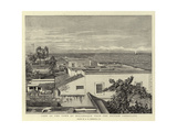 View of the Town of Mocambique from the British Consulate Giclee Print by Harry Hamilton Johnston