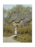 Near Freshwater, Isle of Wight Giclee Print by Helen Allingham