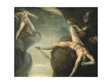 Prometheus Freed by Hercules, 1781-1785 Wydruk giclee autor Henry Fuseli