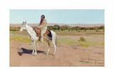 Tashkoniy (Herder), Cache Creek, Oklahoma Giclee Print by Henry Francois Farny