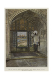 The Taj Mahal as Seen from a Window of Shah Jehan's Palace at Agra Giclee Print by Harry Hamilton Johnston