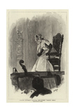 Yvette Guilbert Singing Beranger's Grand' Mere Giclee Print by Henry Marriott Paget