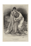 The Revival of Shakespeare's King Lear at the Lyceum Theatre Giclee Print by Henry Marriott Paget